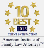 AIOFLA 2015 10 Best Attorneys Badge